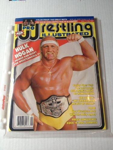 Pro Wrestling Illustrated May 1990 Hulk Hogan Primed and Ready for Wrestlmania VI (Pro Wrestling Illustrated)