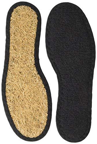 BERGAL Kinder Coco Air Einlegesohlen/hält Füße frisch und kühl/Unisex, (schwarz), 31 EU