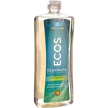 25 Oz Dishmate Dish Liquid Free and Clear 1 unit
