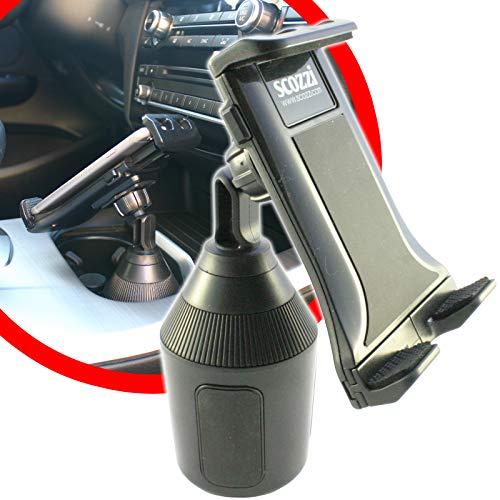 scozzi Universal Handyhalterung Auto Getränkehalter Dosenhalter Handy KFZ Halterung Halter (kompatibel mit Samsung,iPhone,Huawei) S20 S10 S9 S8 A71 A51 A50 M40 P40 P30 11 X XS XR 8 Plus Ultra Lite Pro
