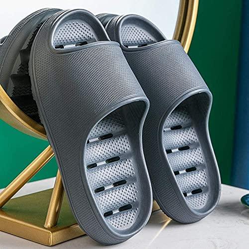 LSZ Zapatillas de baño Suela Gruesa con Fugas Confort...