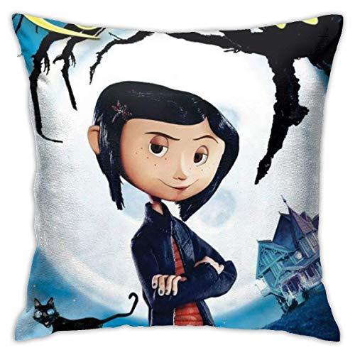 qidong Corali-Ne Pillowcase Sofa Home Soft and Cozy Pillowcase 1818 Inches