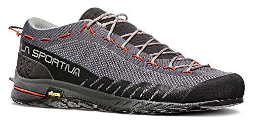 La Sportiva TX2 Hiking Shoe - Men's, Carbon/Tangerine, 47