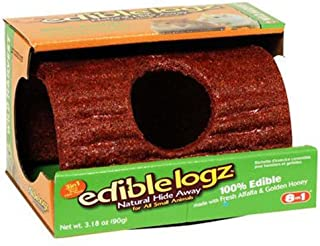 United Pet Group P-E12209 Bird Chewable Log Hideout, Small