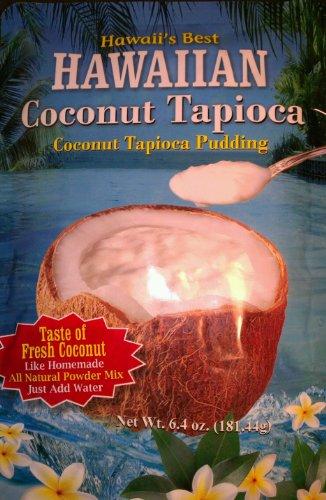 Hawaiian Coconut Tapioca Pudding