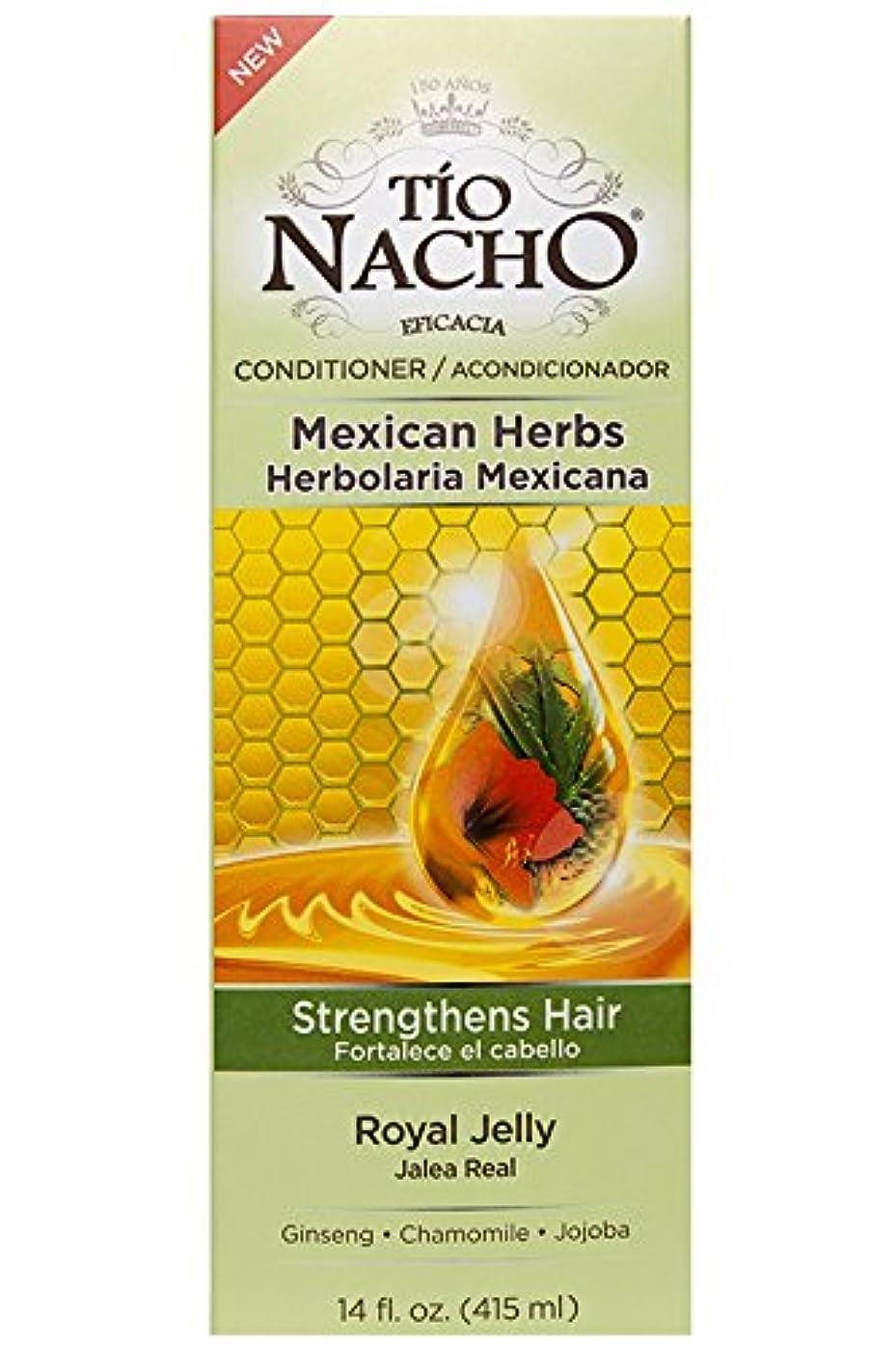 シマウマ告白トラックTio Nacho ローヤルゼリー、高麗人参、アロエベラ、小麦、ホホバ、14オンスコンディショナーを強化メキシコハーブの髪。