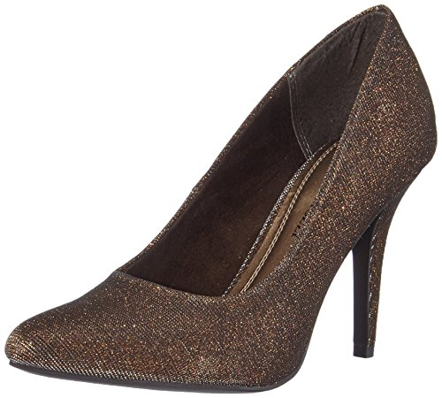 Marco Tozzi 22405, Damen Pumps, Braun (Bronze Metall. 968), 38 EU (5 Damen UK)