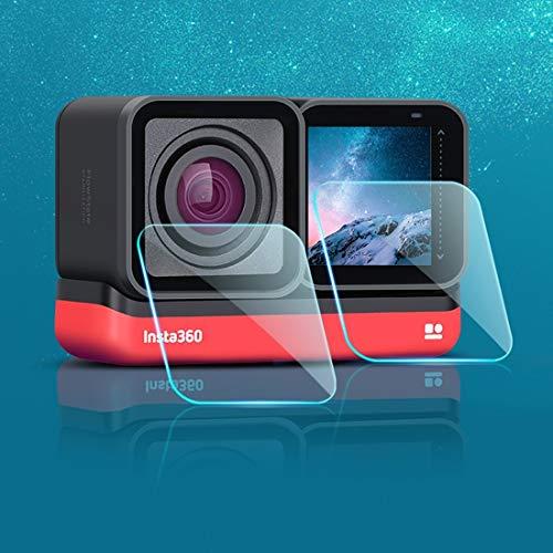 YAOLAN Accesorios de la cámara Deportes Lente LCD Pantalla de Cristal Templado...