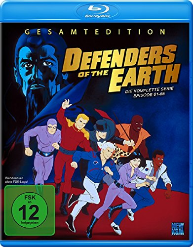 Defenders of the Earth - Gesamtbox [Blu-ray]