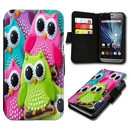 sw-mobile-shop Book Style Huawei Ascend Y300 Premium PU-Leder Tasche Flip Brieftasche Handy Hülle mit Kartenfächer für Huawei Ascend Y300 - Design Flip SB463