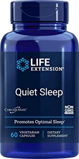 Life Extension Quiet Sleep Melatonin, B Vitamins, Magnesium & Inositol Supports Relaxation & Healthy Restful Sleep - Non-G...