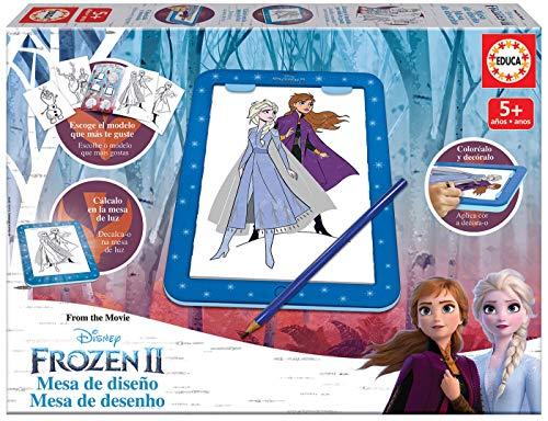 Educa- Frozen II Mesa de Diseño, Multicolor (18369) ✅