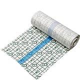 Tattoo Aftercare Bandage adhésif transparent étanche pour pansement de seconde peau Protection anti-bactérienne 15,2 cm x 1,3 m, 1M