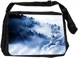 Jacks Outlet JOI-MB-90 TM Messenger Bag, Mountain Wolf