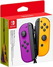 Joy-Con Pair (Neon Purple, Neon Orange) (Nintendo Switch)