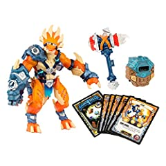 "The tyrax hero is a poseable 7"" ""smart action figure."" Insert the FusionCore to instantly bring your hero into the Lightseekers video game. Lights, sounds, speech, and vibrations respond to and help guild your gameplay. Your Starter Pack also unlocks..."