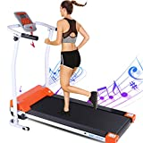 ANCHEER Treadmills,Folding Treadmill for Home,Running Machine with LCD Monitor,Electric Treadmills Pulse Grip and Safe Key,Jogging Walking Exercise Fitness Machine for Family & Office Workout2