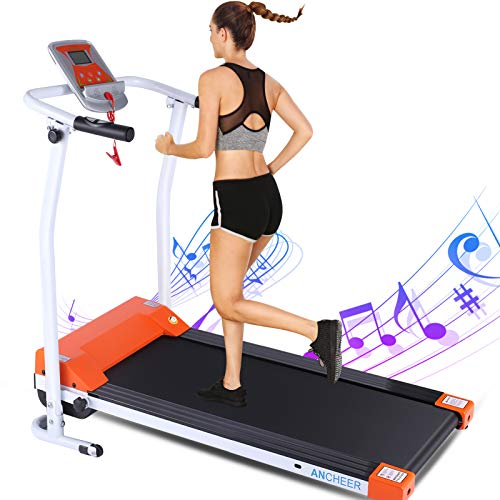 ANCHEER Folding Treadmill for Home Now $239.99 (Was $600)