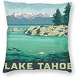 DayToy Stil Reise Sandhafen Lake Tahoe Art Poster 1 Pack
