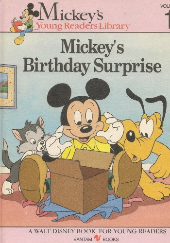 Mickey's Birthday Surprise: Mickey's Young Readers Library Vol. 1