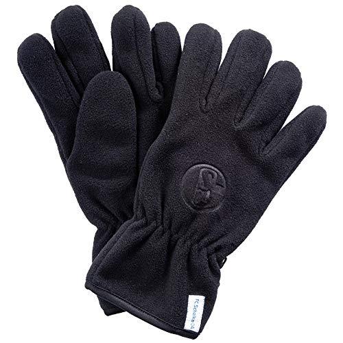 FC Schalke 04 Fleece Handschuhe, schwarz, Größe: XL