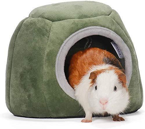 Hamster Kleintier Bett, Kleintiere Hütten, Winter Warmes Haus, Hamsternest, Kleine Tier Haus Nest Gemütlich Warm Plüsch Baumwolle Schlafen Bett Höhle Zubehör Für Hamster Meerschweinchen(20x16cm)