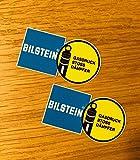 BILSTEIN 2 Stück Aufkleber Sticker Gewindefahrwerk Dub Stoßdämpfer JDM OEM Mi283