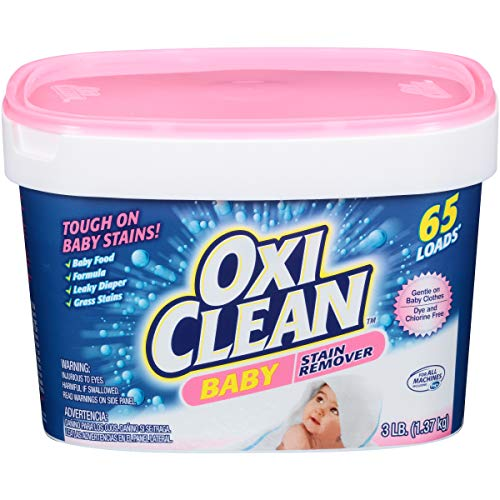 OxiClean Baby Stain Fighter, Soaker, 3 lb Tub Baby stain Soaker