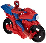 Spider-Man Figura de Hombre araña de la Serie Titan Hero con Ciclo Power FX Reproduce Sonidos y Frases