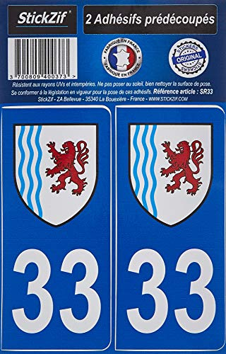 STICKZIF SR33 Adhésif, Set de 2