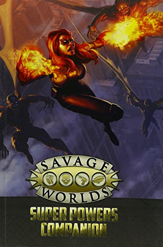 Super Powers Companion (Savage Worlds, Second Edition, S2P10503)
