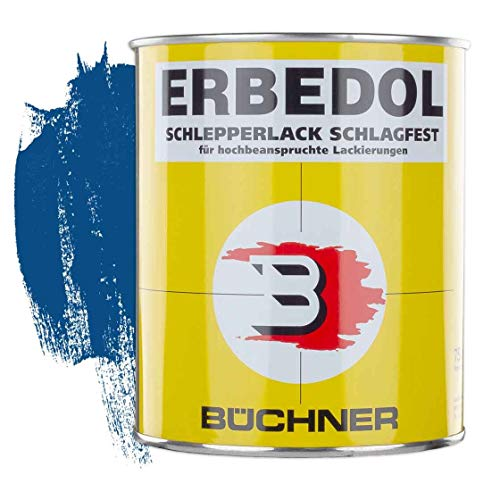 Schlepperlack | FORDSON BLAU | 0,75 l | restaurieren | Traktor | lackieren | Farbe | Trecker | Frontlader | Lack | Lackierung | Farbton | schnelltrocknend | deckend