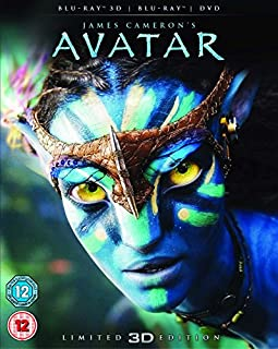 Avatar with Limited Edition Lenticular Artwork (Blu-ray 3D + Blu-ray + DVD) [2012] [Region Free] (B003R0KOUQ)   Amazon price tracker / tracking, Amazon price history charts, Amazon price watches, Amazon price drop alerts