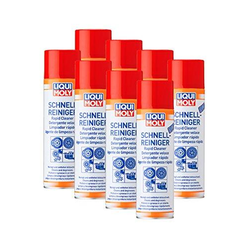 8x Liqui Moly 3318rápido limpiador de freno spray limpiador 500ml