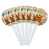 GRAPHICS & MORE The Flintstones Barney Character Cupcake Picks Toppers Decoration Set of 6