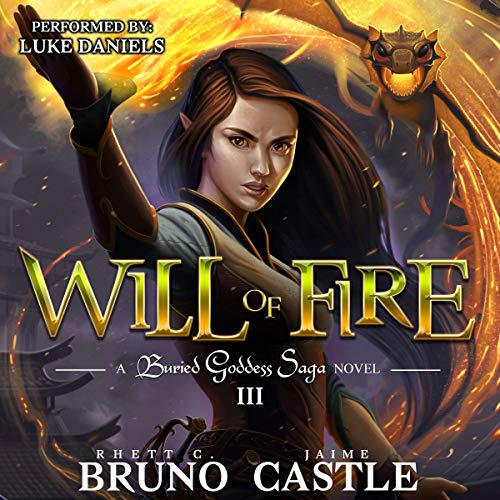 Will of Fire audiobook cover art