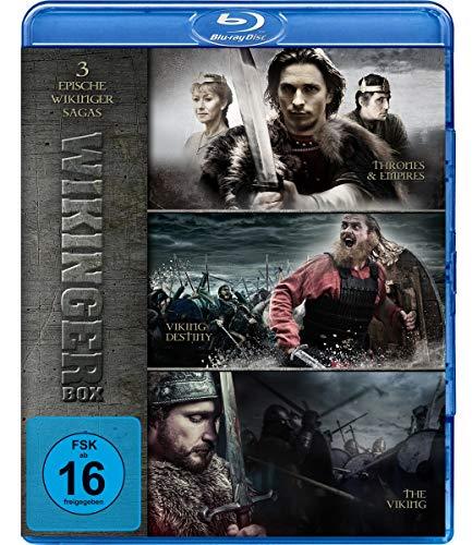 Wikinger Box - Drei epische Wikinger Sagas - Thrones & Empires, Viking Destiny, The Viking [Blu-ray]