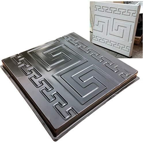 TFACR Molde de ladrillo Cuadrado - Molde del Fabricante del Camino del Piso, Molde de adoquines de hormigón para jardín/Patio/Entrada/pavimento
