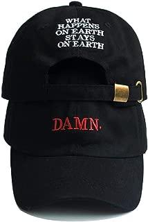 RyuLifeStyle Damn Embroidered Hip Hop Cap Kendrick Lamar Rapper Snapback Hats Baseball Cap