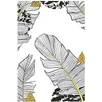 絵画 インテリア Monstera Leaf Botanical Scandinavian Poster Nordic Canvas Art Print Pictures for Living Room Home Decoration 15.7x23.6in(40x60cm)x1pcsフレームなし