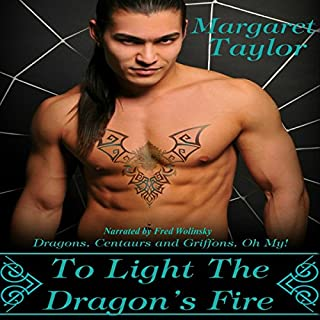 To Light The Dragon's Fire audiobook cover art