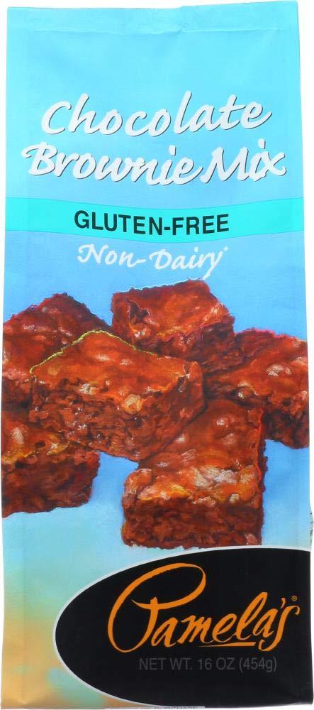 Pamela's Gluten Max 62% OFF Free Gifts Chocolate Brownie 16 454 g oz Mix