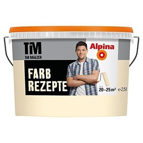 ALPINA Farbe Tim Mälzer Farbrezepte 2,5 L, ein Hauch von Gelb