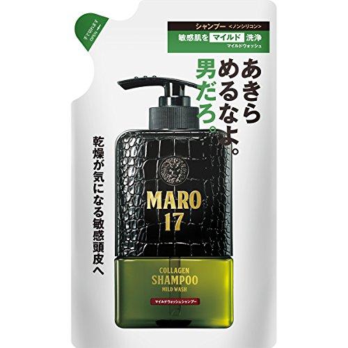MARO17(マーロ17) マイルドウォッシュ シャンプー メンズ スカルプ 詰め替え 300ml