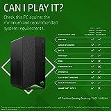 HP Pavilion Gaming Desktop TG01-1042na PC – (AMD Ryzen 5 4600G, 8 GB RAM, 1 TB HDD, NVIDIA GeForce GTX 1650 SUPER (4 GB dedicated) graphics, Windows 10 Home), Shadow Black and Green