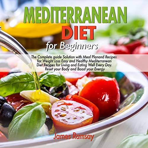 『Mediterranean Diet for Beginners』のカバーアート