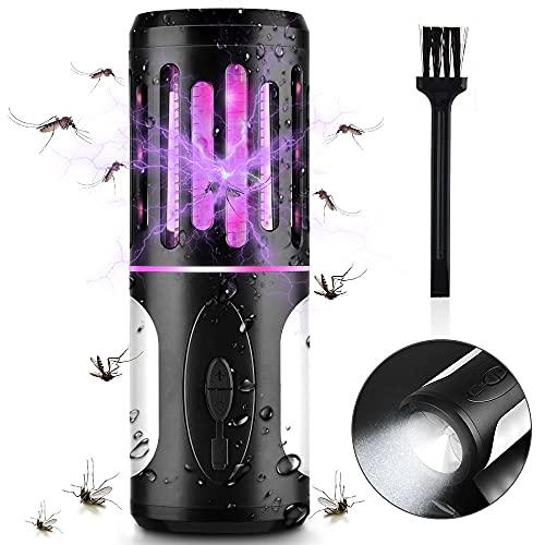 BASEIN Asesino de Insectos UV, Trampa de Mosquitos eléctrica, eliminador de Insectos,...