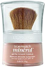 L'Oréal Paris True Match Mineral Loose Powder Foundation, Nude Beige, 0.35oz