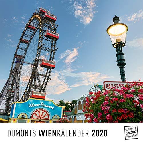DUMONTS Wienkalender Vienna 2020 – Wandkalender – Quadratformat 24 x 24 cm
