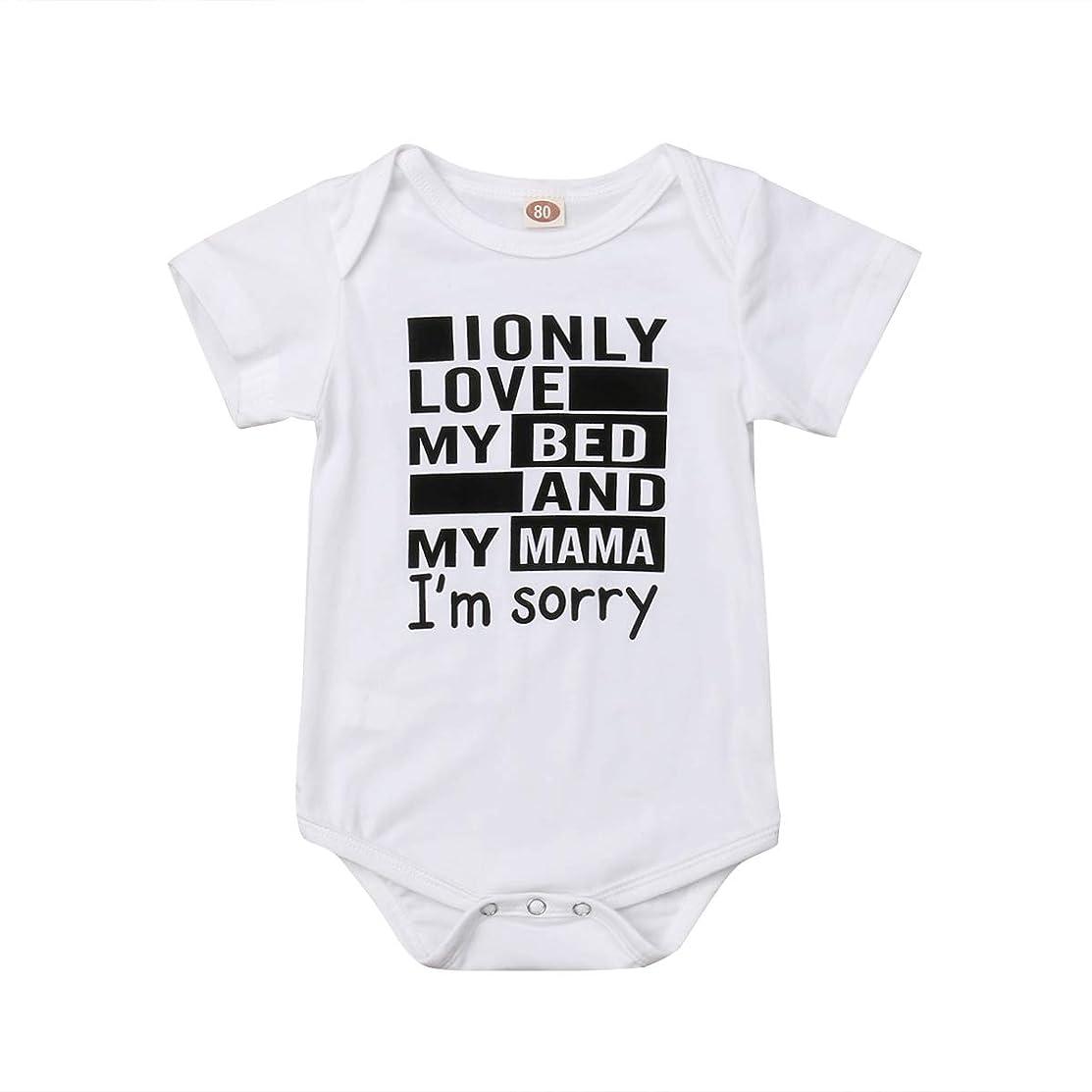 Gobrillant Infant Baby Girl Boy Clothes Short Sleeve Romper Jumpsuit Bodysuit Outfits Costume
